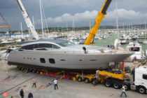 Pershing launches third 108 foot yacht
