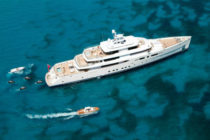 Perini Navi Group launch 73m Grace E