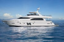 Horizon Yachts launches E78 with hydraulic hardtop