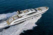 First Mangusta 132 launched from Overmarine shipyard