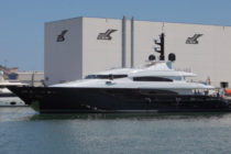 First refitted CRN yacht launched