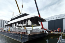 Heesen joins hull and superstructure on Project Alida