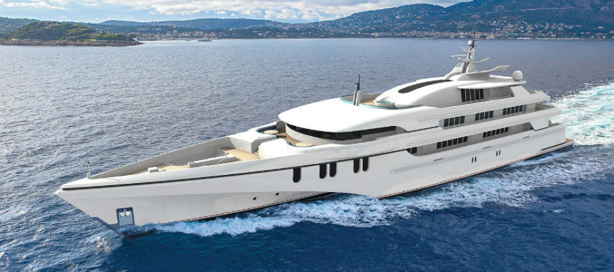 Echo Yachts building largest ever tri-hulled yacht