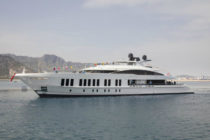Alia Yachts launches 60-metre superyacht Project 'Samurai'