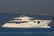 Bilgin 156-II transported to shipyard's Küçükçekmece facility