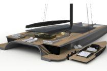 Malcolm McKeon releases superyacht catamaran design concept