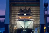 Lürssen to launch Middle East-bound megayacht Project Mistral