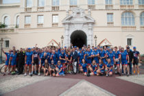 Prince Albert of Monaco welcomes finalists of ocean conservation fund raising bike ride