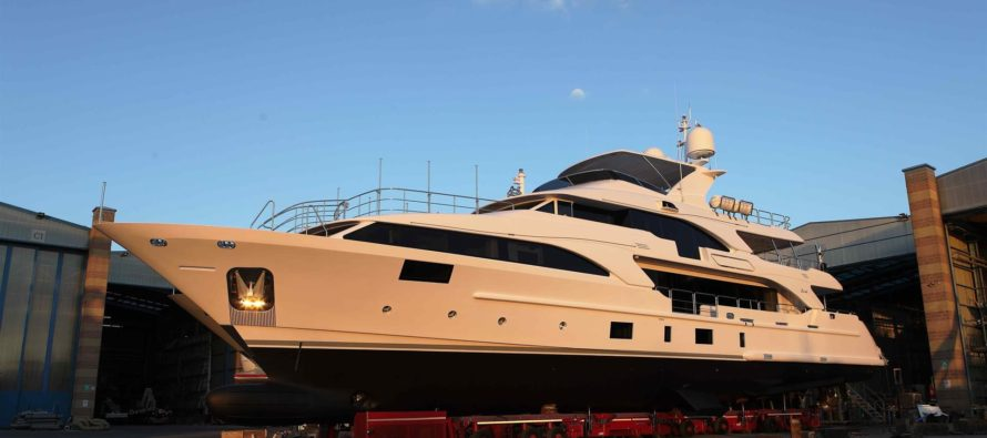 Benetti's Lady Lillian launched