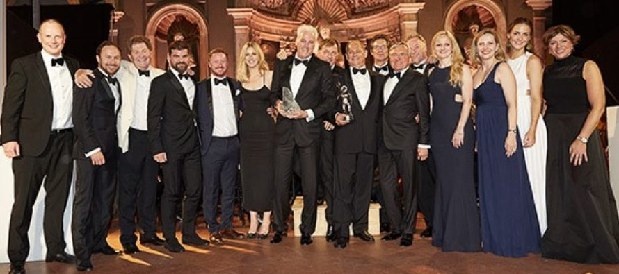 Lürssen sees success at the 2017 World Superyacht Awards