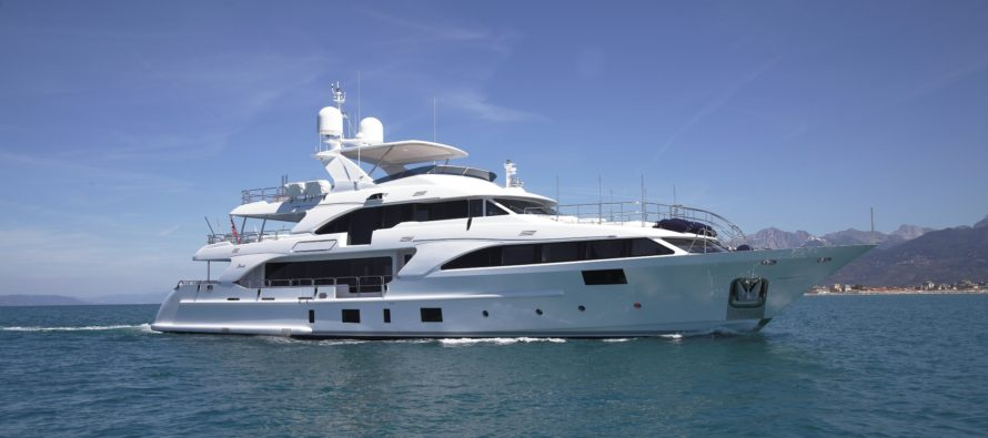 Benetti delivers 32nd Classic 121′ 'Lady Lillian'