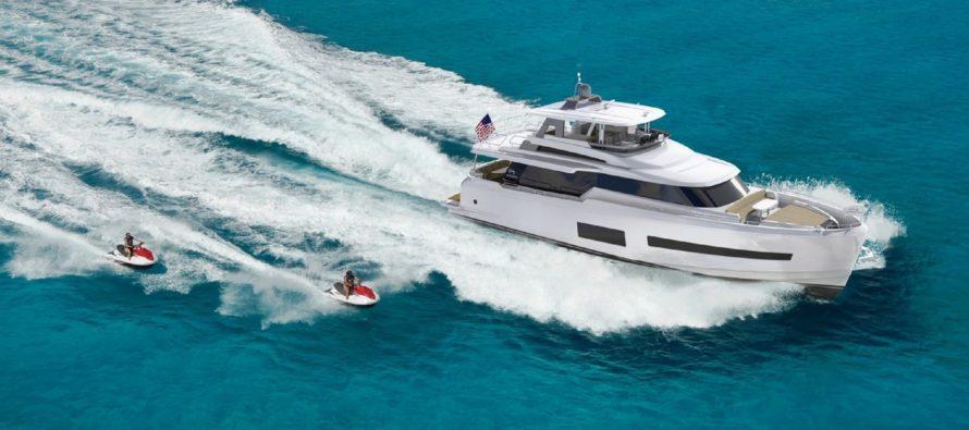 Horizon unveils the V67 motoryacht