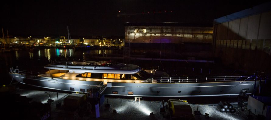 Perini Navi launches S/Y Seven