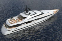ISA Yachts sells new aluminium superyacht