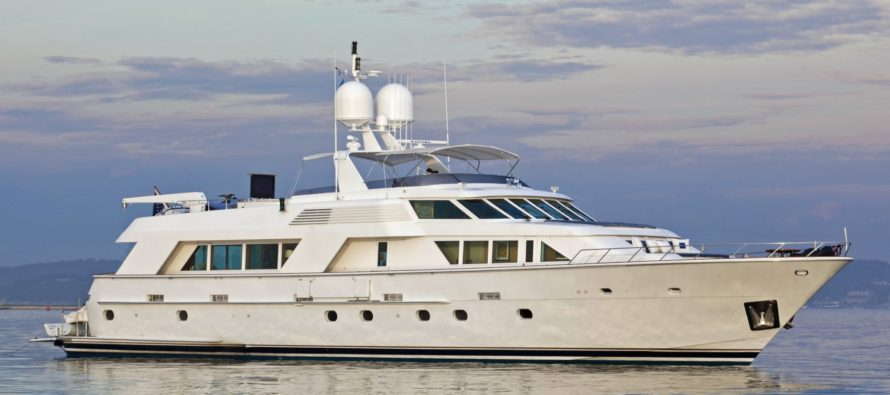 Northrop & Johnson sells 34 metre Victoria