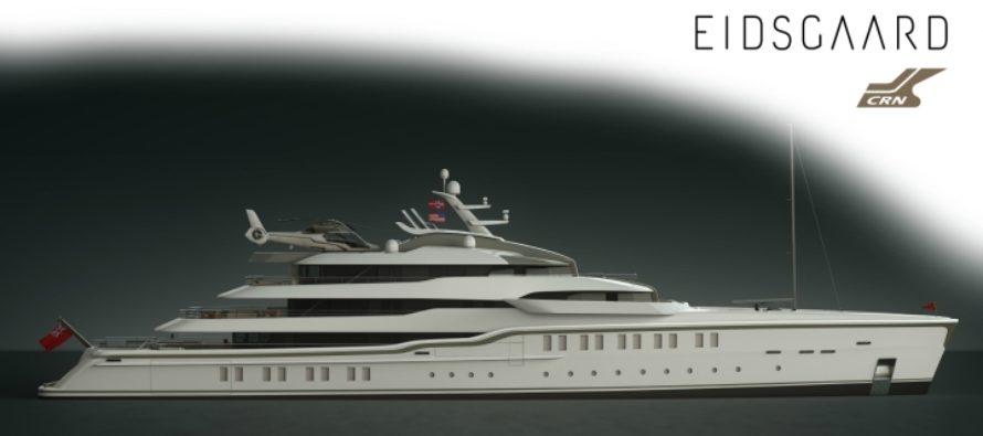 CRN reveals 86-metre explorer yacht