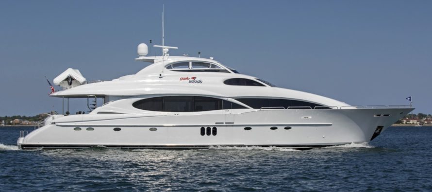 Northrop & Johnson sells M/Y Gale Winds