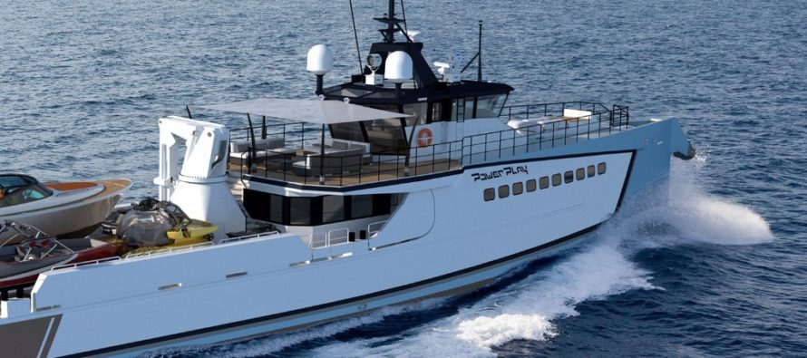 DAMEN Adventure vessel POWER PLAY available from summer 2018