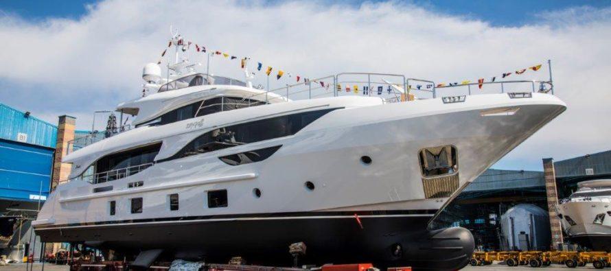 Benetti successfully launches its third Delfino 95 unit – M/Y Zehra