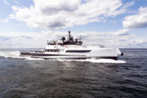 Damen yacht support vessel Axis to appear at FLIBS 2018