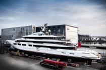 Oceanco launches 90 metre 'Dreamboat'