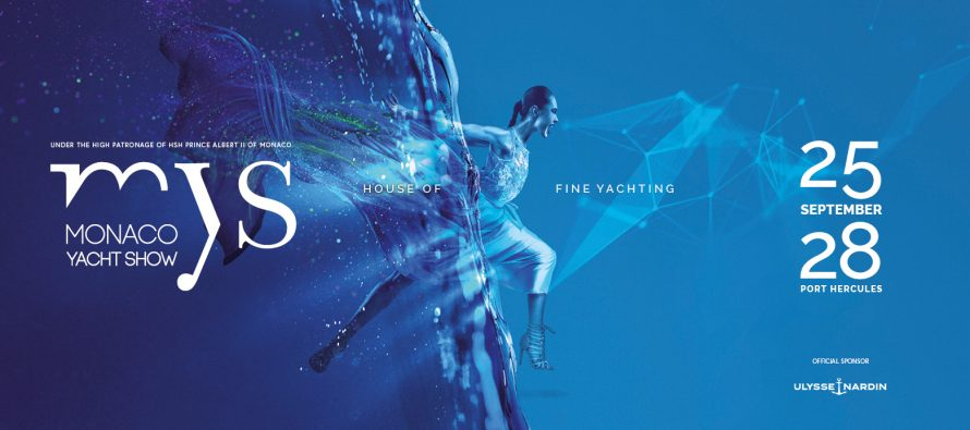 The Monaco Yacht Show launches its 2019 advertising campaign
