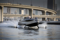 The Foiler hydrofoil superyacht tender claims to rise above competition