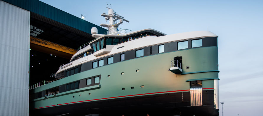 Polar Class superyacht launched by Amels & Damen