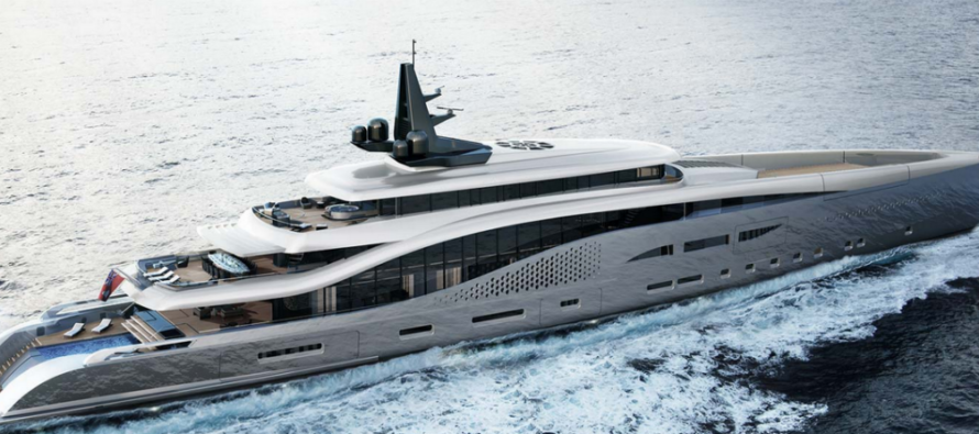 Oceanco presents 107m project