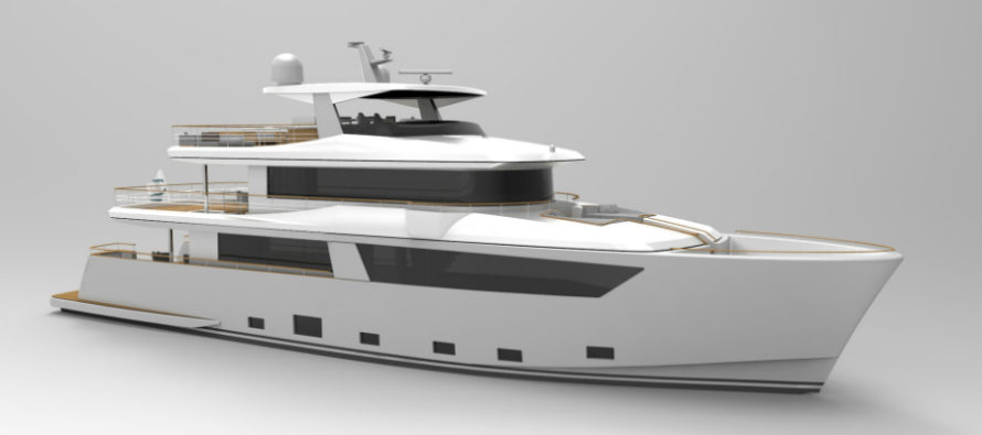 Cantiere delle Marche begins construction on Nauta Air 108