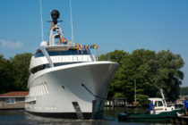 Halo launched by Feadship