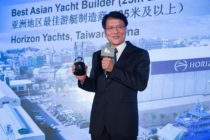 Horizon win 10th 'Best Asian Yacht Builder' award