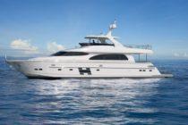 Horizon Yachts launches E78 with hydraulic hardtop