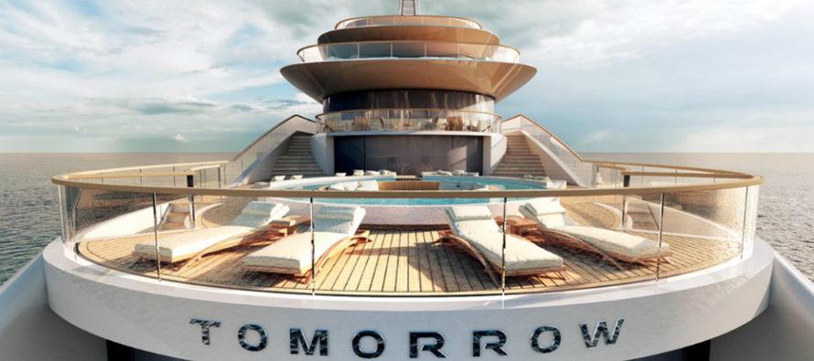 Pride Mega Yachts starts construction on 109m Tomorrow