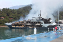 Barbie superyacht owner receives $20m in blaze pay out