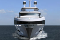 Aston Martin designer Henrik Fisker releases 50-metre superyacht concept