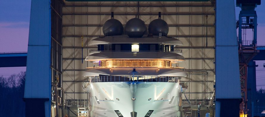 Lürssen to launch Middle East-bound megayacht Project Mistral