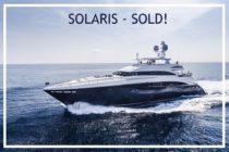 Solaris sold by Princess Yachts Monaco