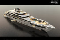 Ken Freivokh reveals new 140 metre superyacht design