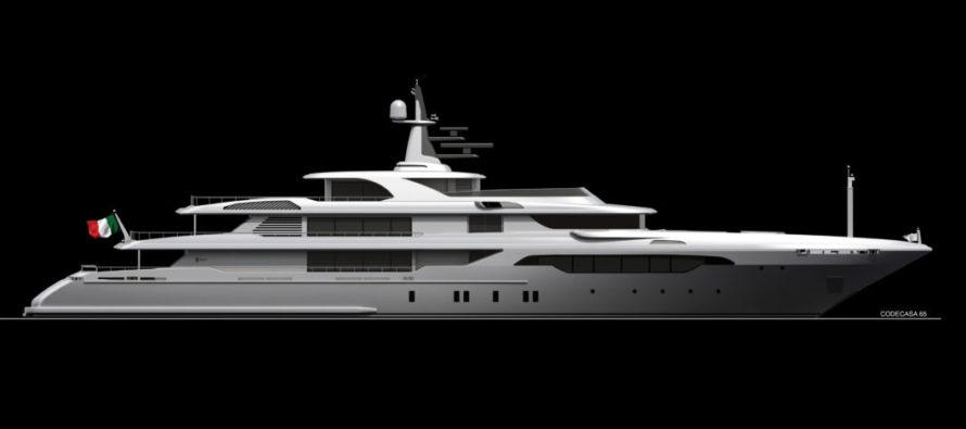 Codecasa building new 65-metre yacht