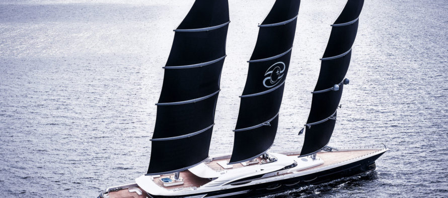 Oceanco delivers Black Pearl