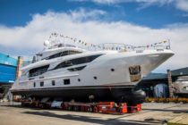 Benetti successfully launches its third Delfino 95 unit – M/Y Zehra