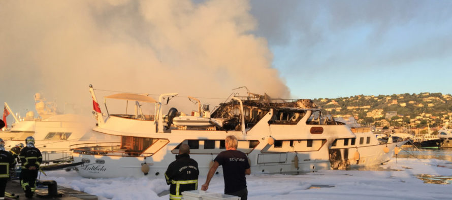 Harbour staff thank those who tackled fire that destroyed 'Lalibela'