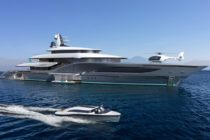Quantum- Ken Freivokh's inspired design  for a new 77m Turquoise Yacht