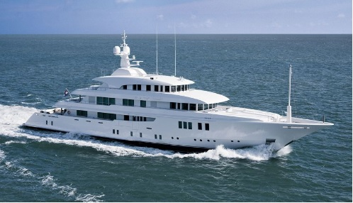 Top 5 biggest superyachts at Fort Lauderdale International