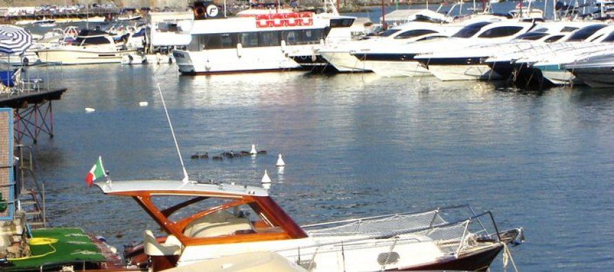 Berlusconi family superyacht 'Suegno' sunk by Italian storm in Rapallo