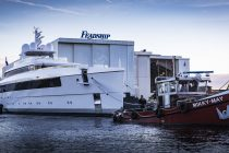Dutch ship yard Feadship launches noble 'Najiba'