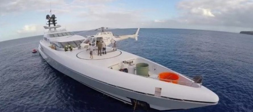 Superyachts join rescue mission to Bahamas after Hurricane Dorian