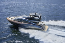 Lexus targets a global market for its new luxury yacht