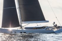 Hybrid electric superyacht fitted with new scaled-down power plant